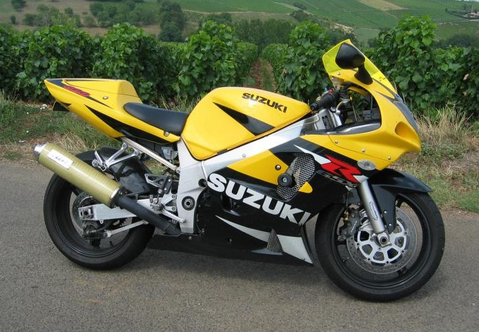 Suzuki 600 GSX-R del 2001