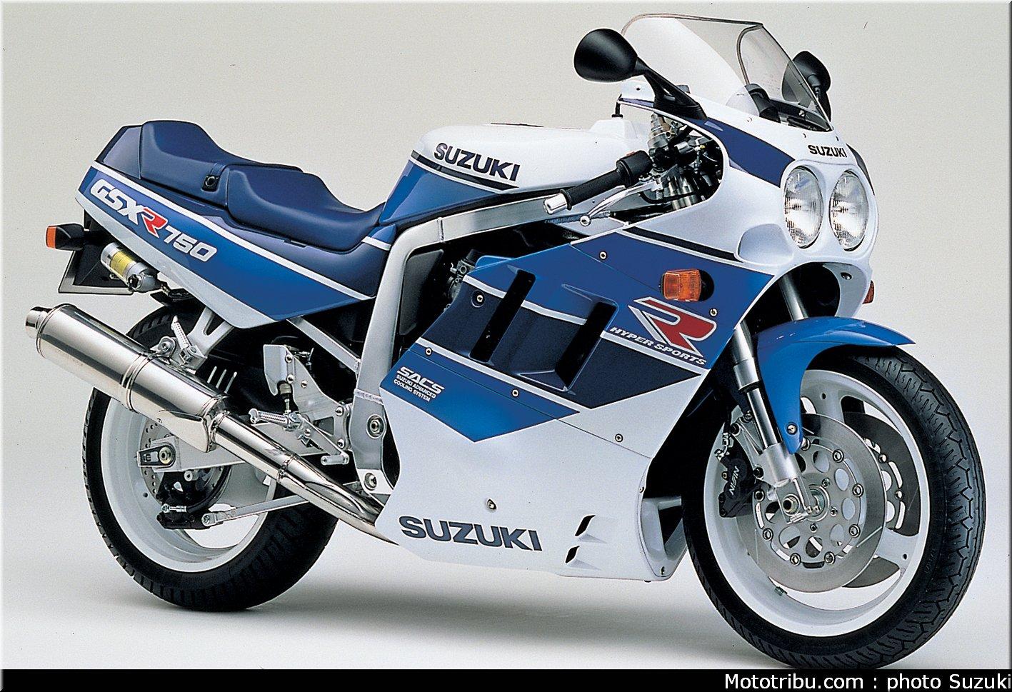 Suzuki 750 GSX-R del 1990