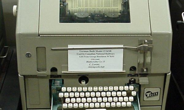 Gli oggetti del nostro passato: TELEX