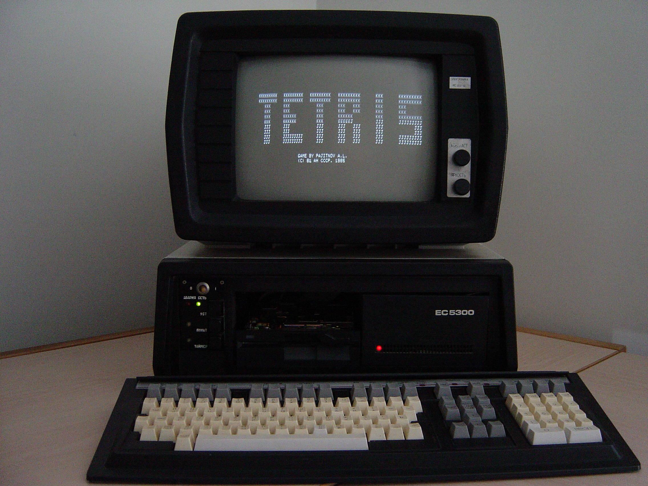 tetris 1984 gioco arcade