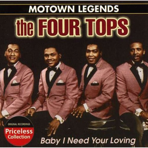 The Four Tops - Copertina di Baby I need your loving
