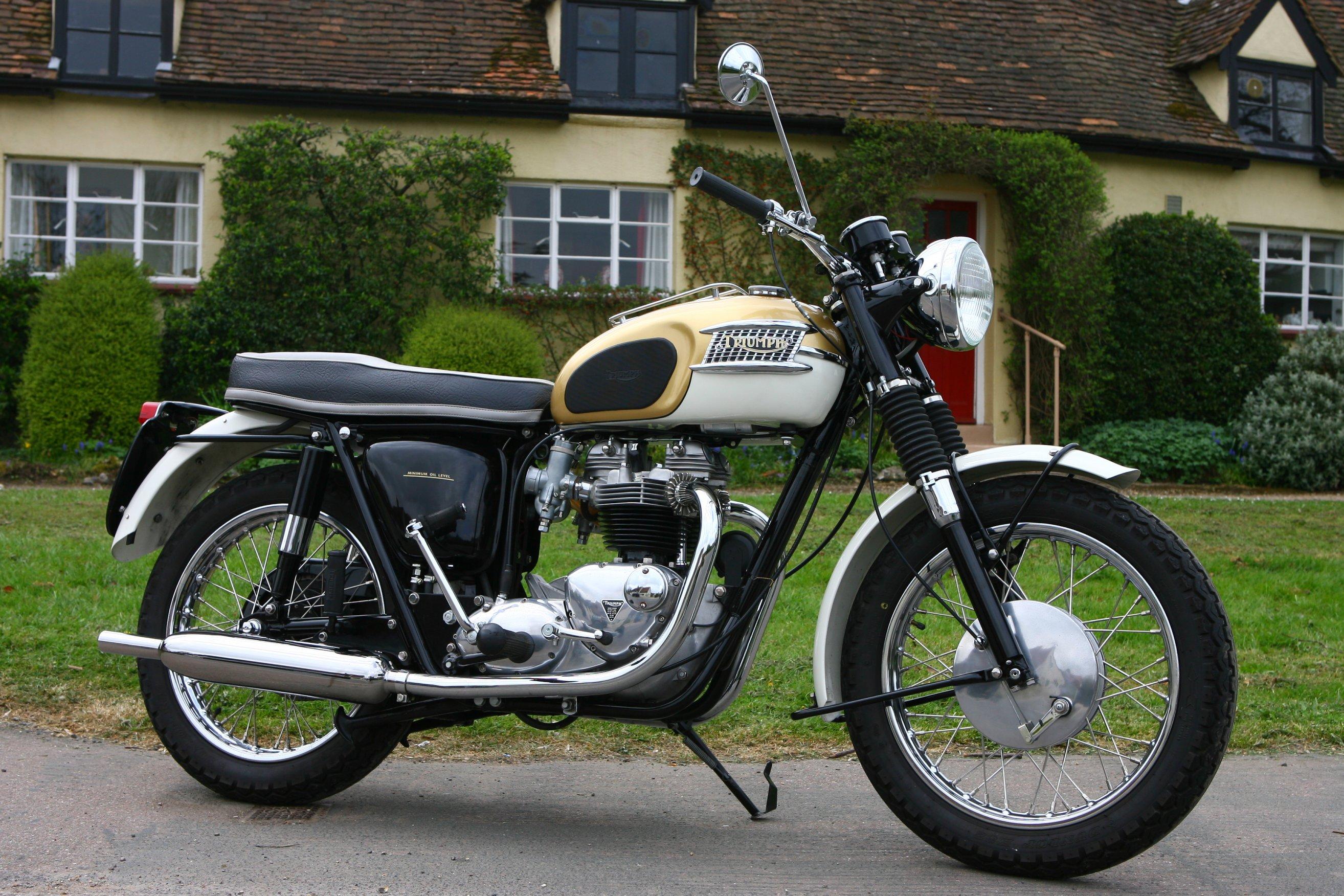 Triumph Bonneville T120 del 1964