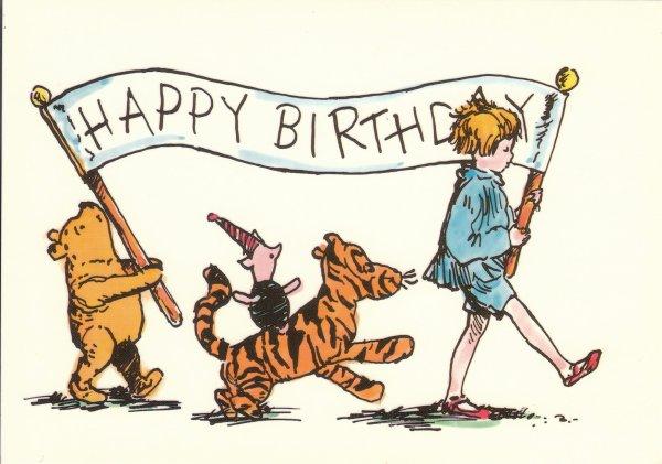 Winnie the Pooh - Illustrazione originale