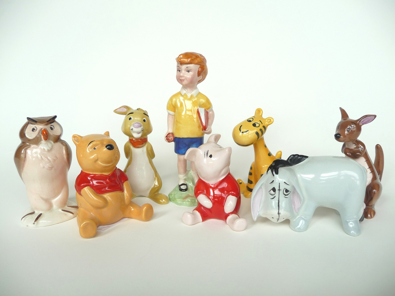 Personaggi Wiinnie the Pooh sempre anni '70