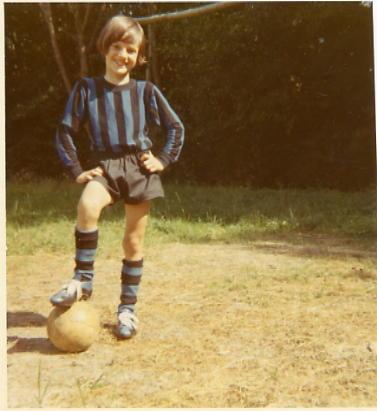 1971 - La prima squadretta di calcio