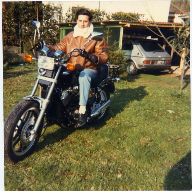 1986 honda vt 500 custom