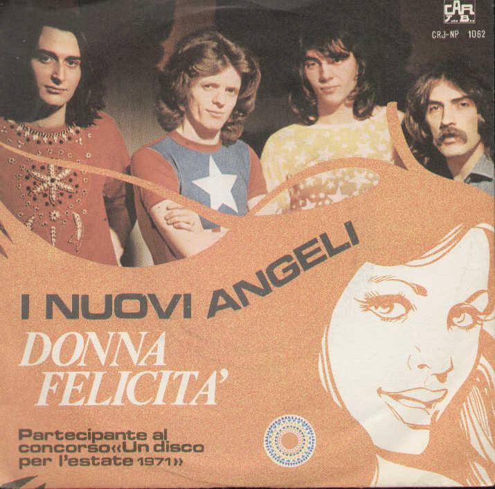 Donna felicita cover nuovi angeli