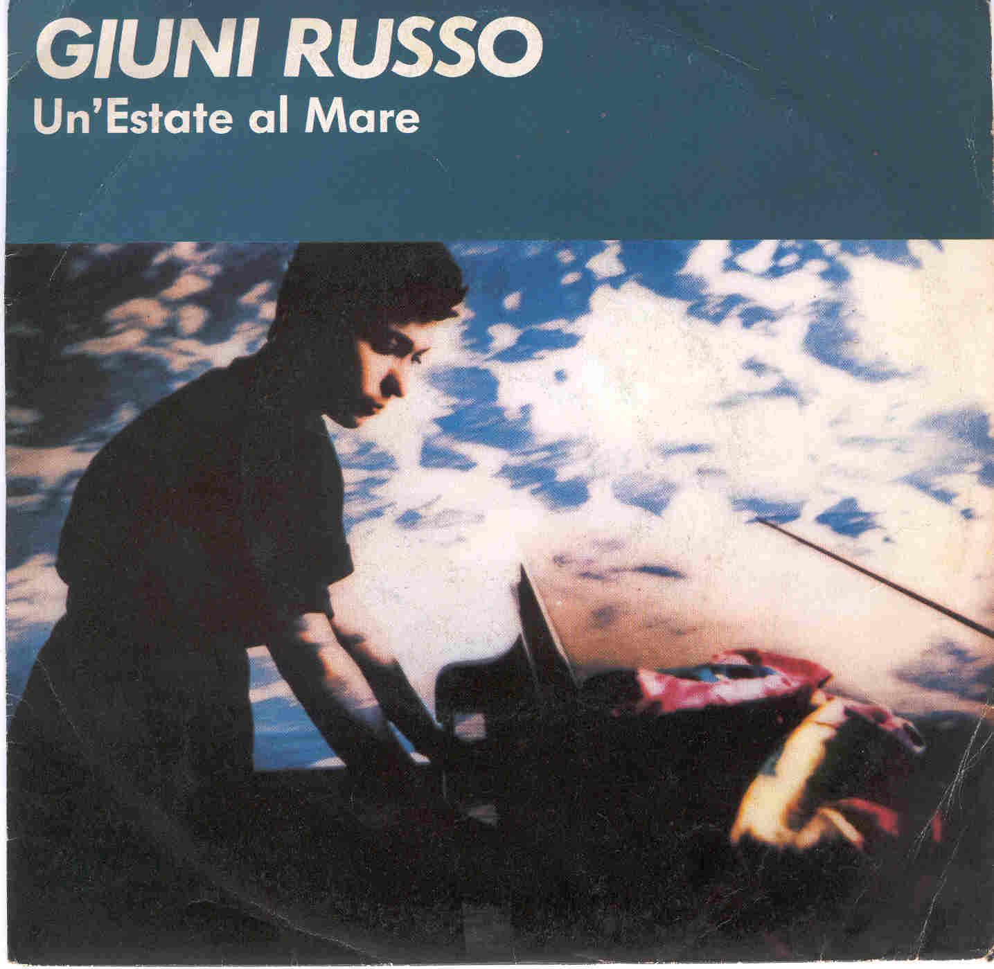 Giuni Russo un estate al mare disco 45 giri