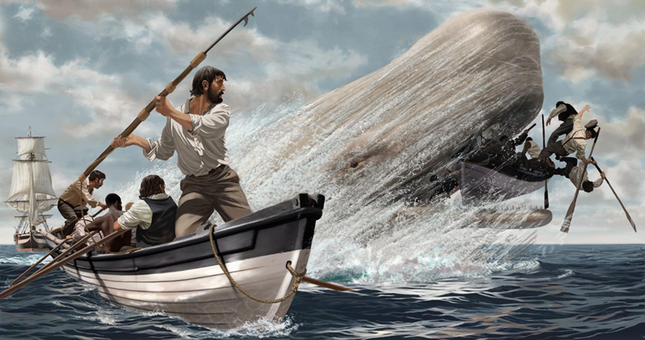 Moby-Dick-illustrazione-romanzo-