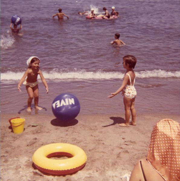 Pallone nivea anni 70