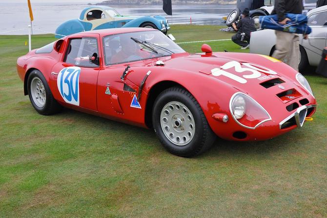 Alfa Romeo Zagato TZ2