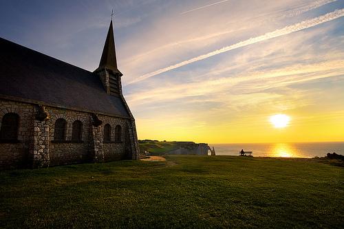 Etetrat - La Chiesa