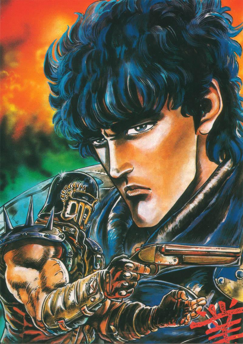 ken-il-guerriero-L'uomo con la pistola è Jagger, uno dei fratelli adottivi di Kenshiro