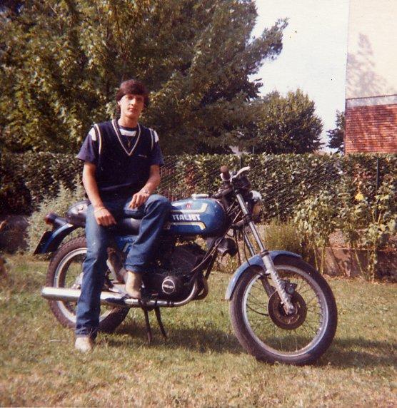 1978 - La mia prima vera moto