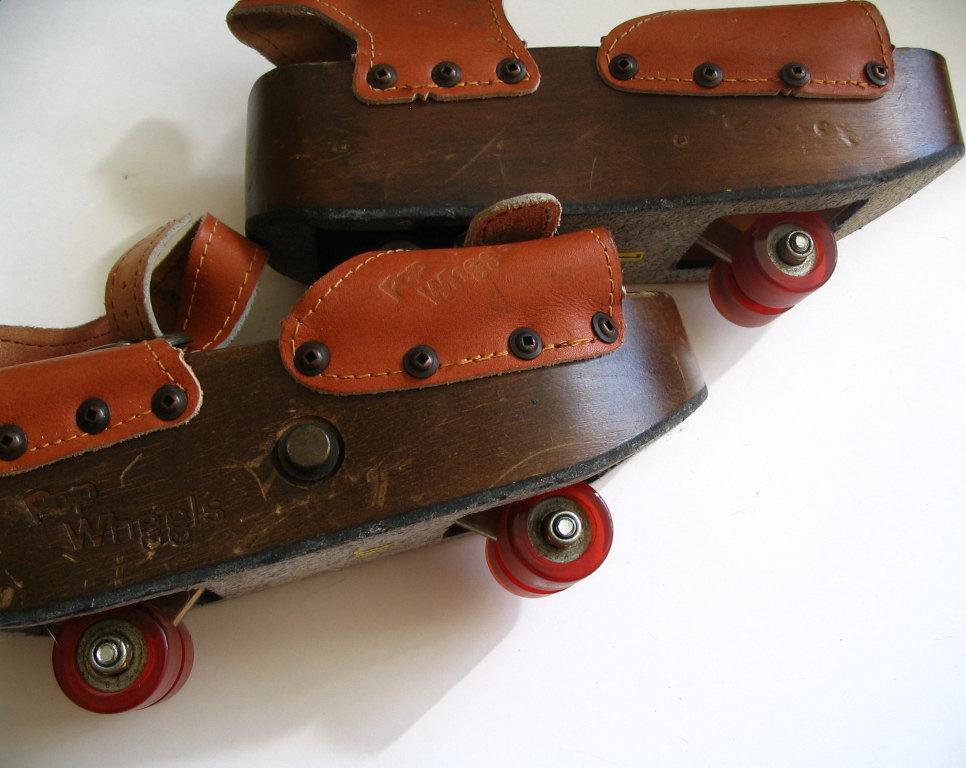 pop wheels anni 70 scarpe con ruote pattino