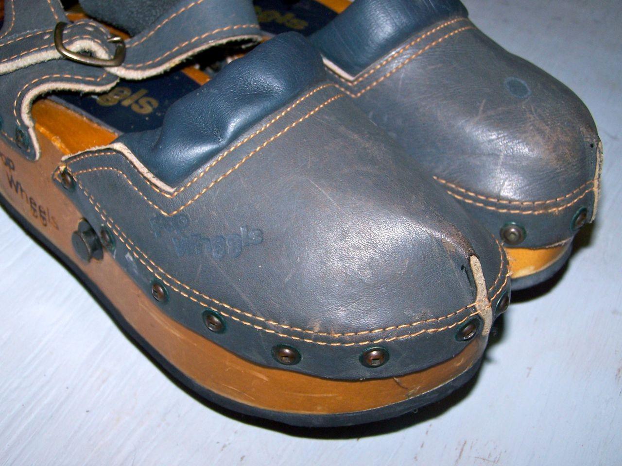 the latest 1344e 9be29 POP WHEELS Le scarpe con ruote anni 70 giocattoli vintage