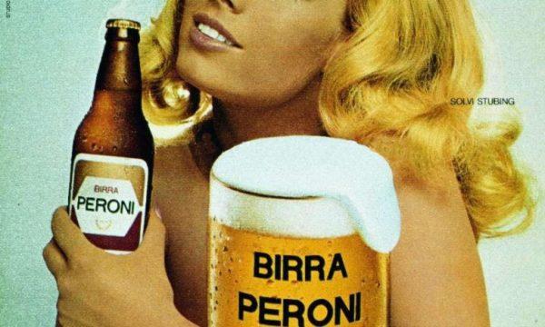 """Addio anche a SOLVI STUBING la mitica """"bionda"""" della Birra Peroni"""