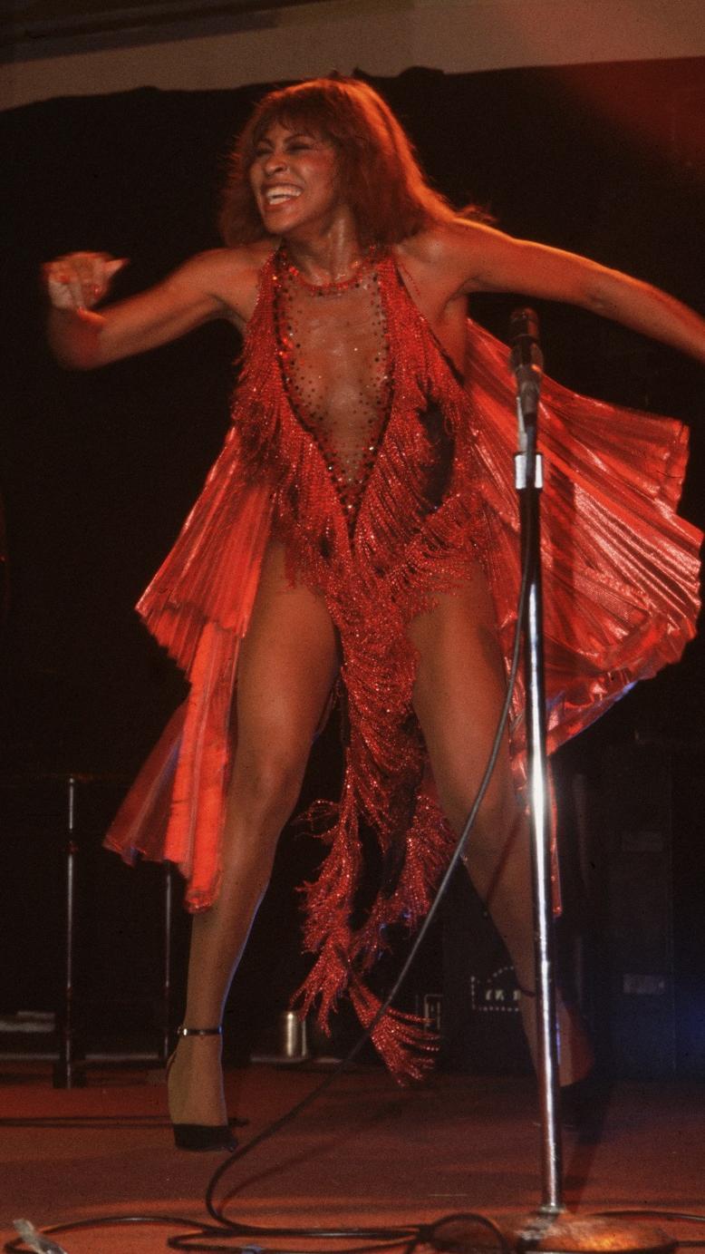 Tina Turne nel 1984