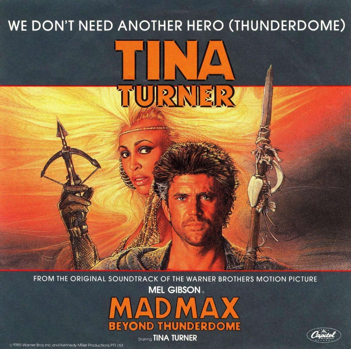 tina turner we don't need another hero_