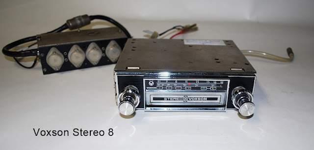 Voxson - Autoradio Stereo8 Sonar