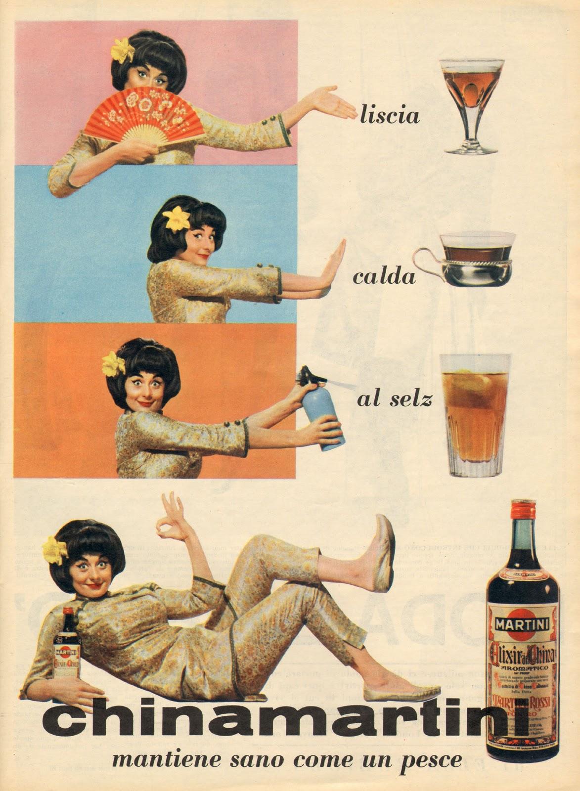Chinamartini sandra mondaini 1964