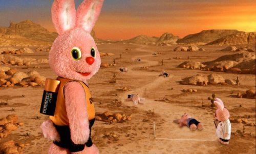 DURACELL – Coniglio rosa – Dura di più – (Dal 1973)