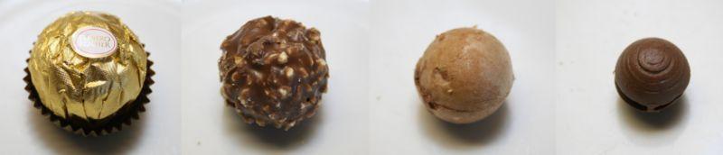 Ferrero Rocher Layer by Layer vari strati composizione
