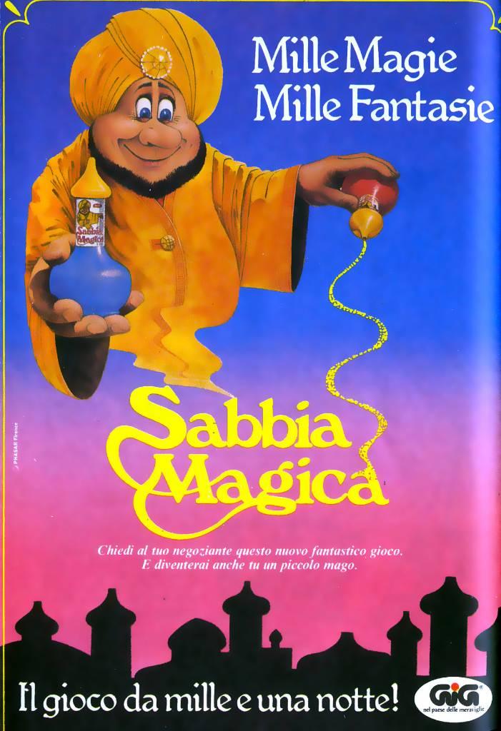 Sabbia Magica topolino maggio 1983