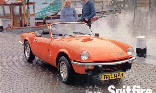 Storia dell'auto: TRIUMPH SPITFIRE