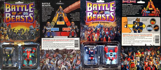battle beasts confezione con istruzioni-