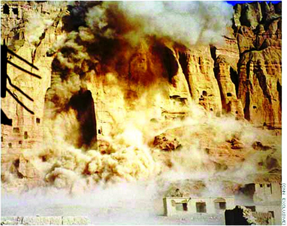 Buddha di Bamiyan distruzionie