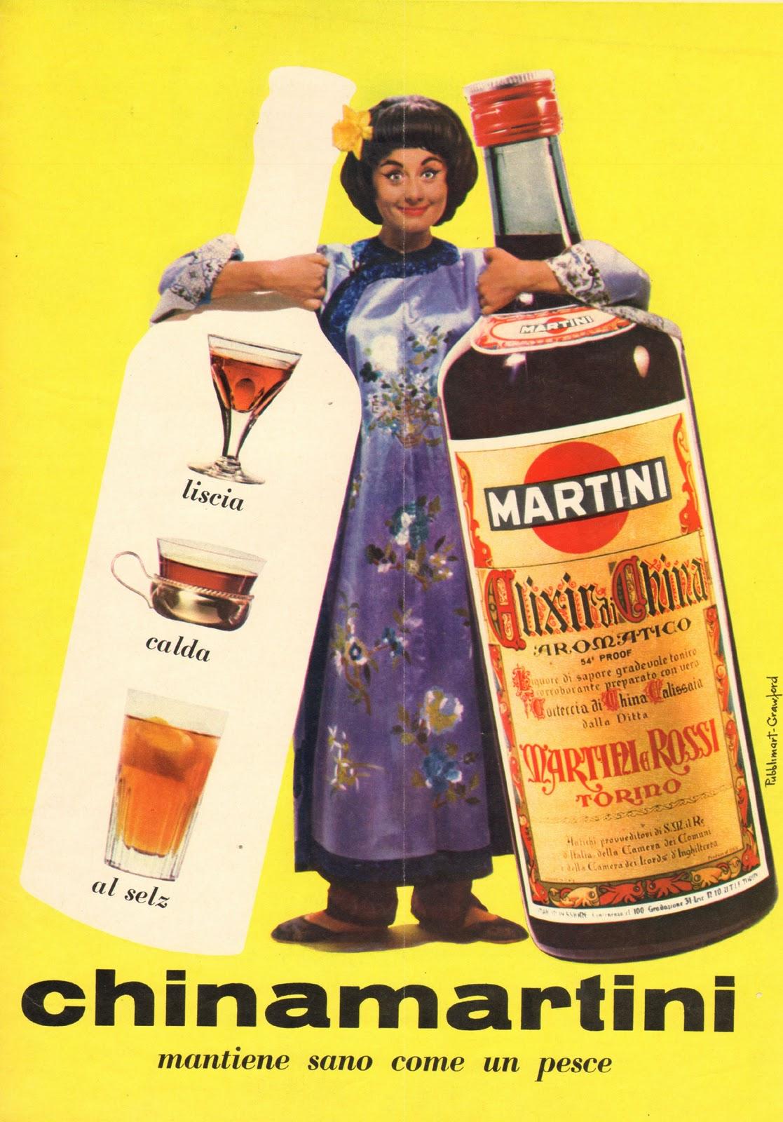 china martini pubblicità 1964