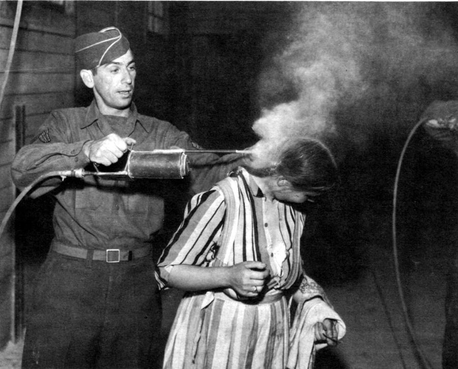 DDT usato contro i pidocchi