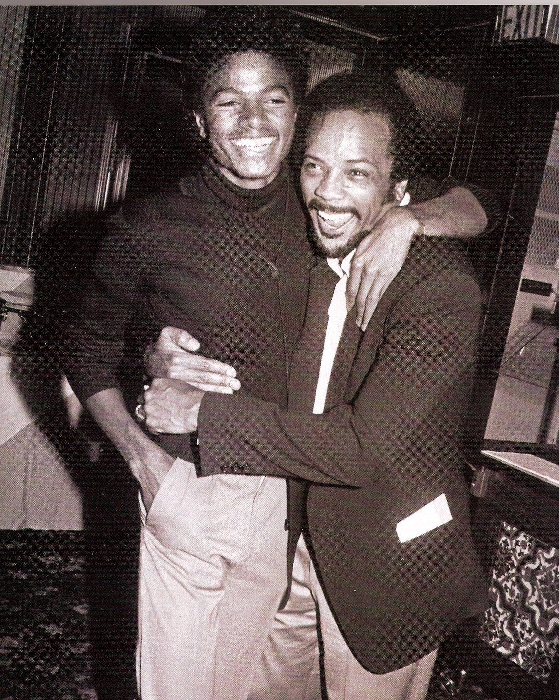 michael jackson quincy jones 1982
