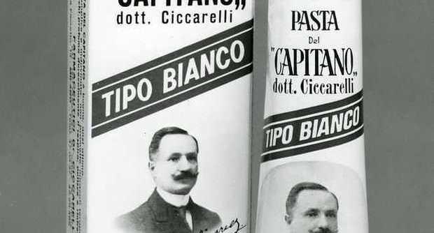 pasta del capitano confezione vintage