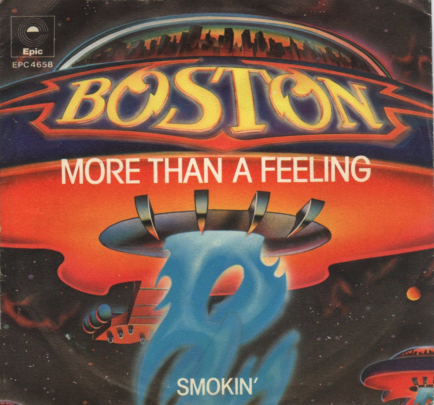 More Than a Feeling copertina disco