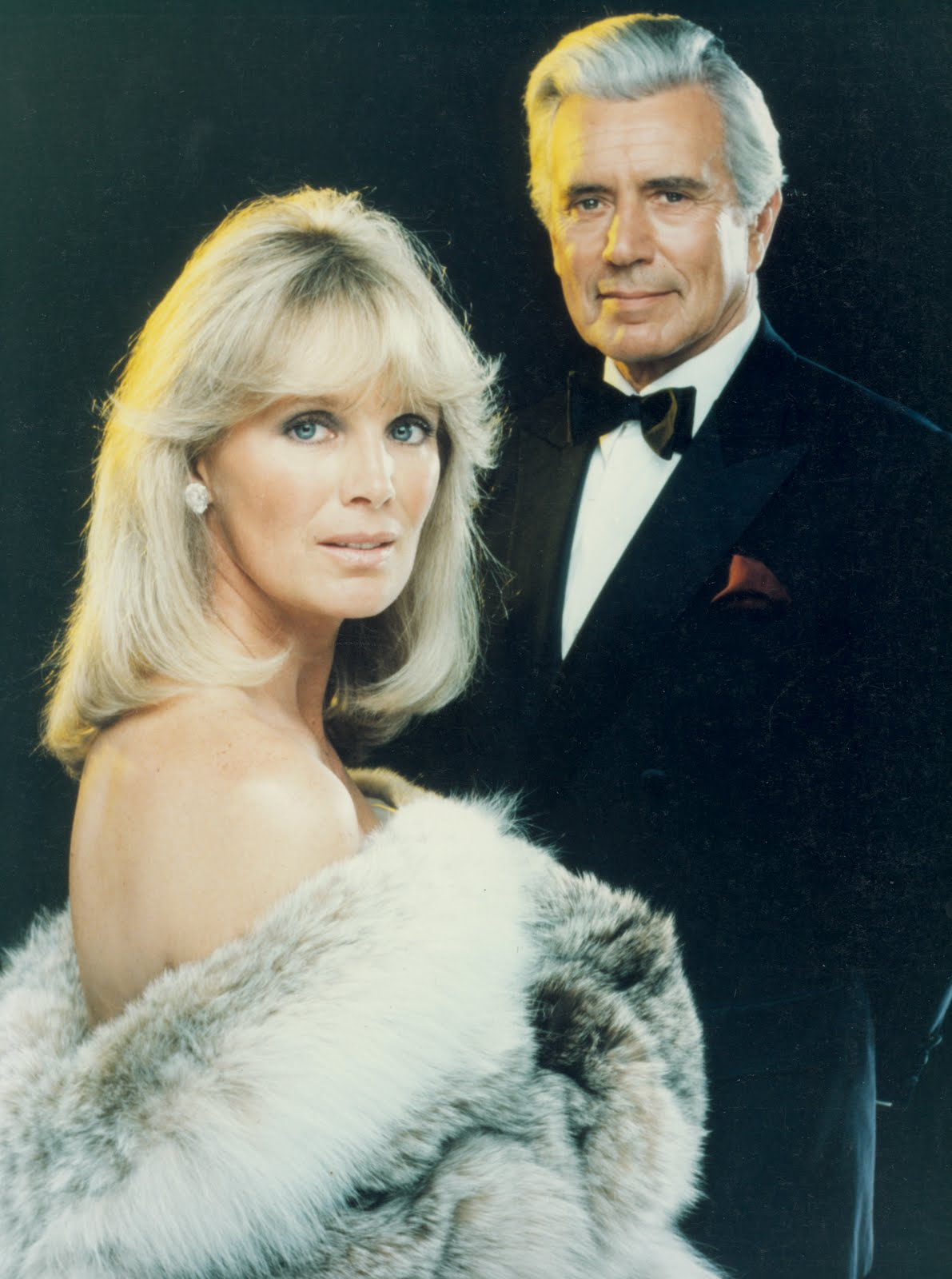 DYNASTY John Forsythe Linda Evans 1981