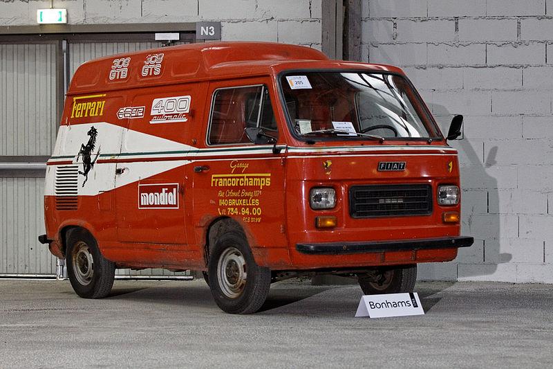 Fiat 900T Ferrari Service Van del 1977
