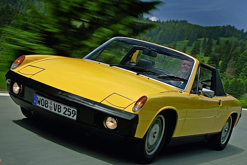Porsche 914:4 1.7 1969–1973