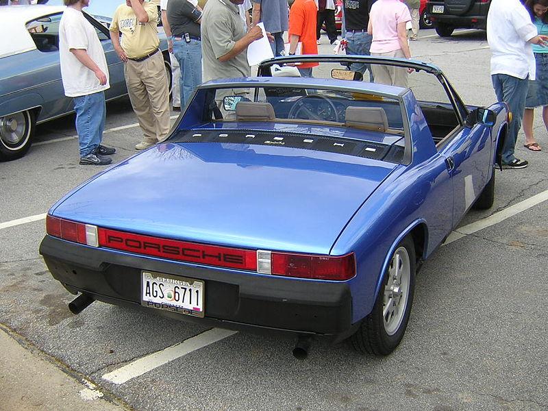 Porsche_914_posteriore