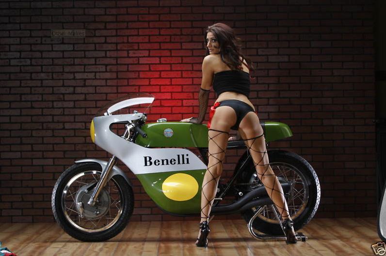 Benelli Quattro 500 Racer Gp