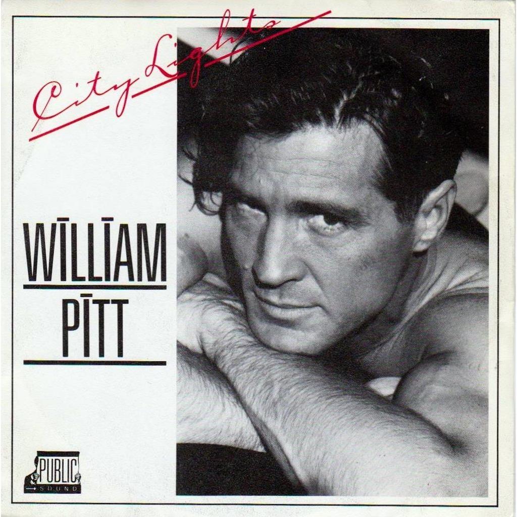 city lights copertina william pitt disco 45 giri vinile anno 1986