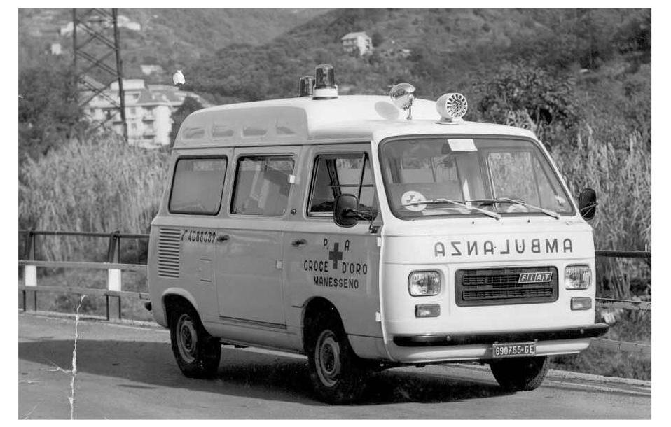 Fiat 900T Ambulanza del 1977