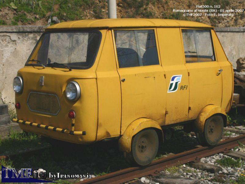 Fiat 500 Draisina in forza alle Ferrovie dello Stato