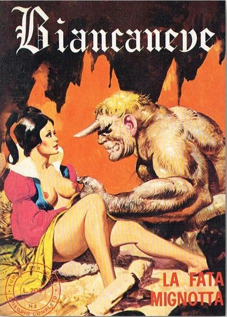 fumetto erotico Biancaneve