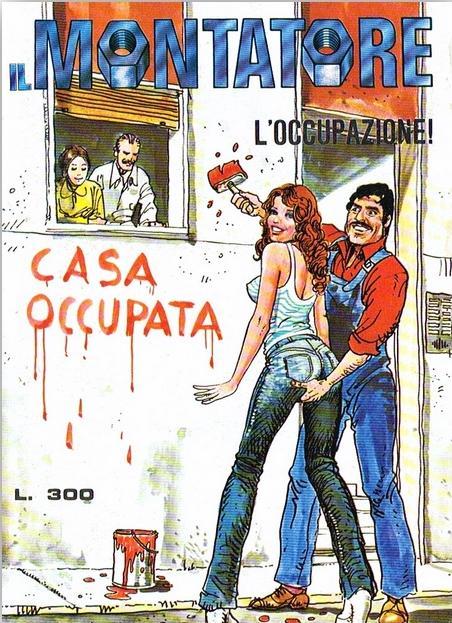 fumetto erotico il montatore