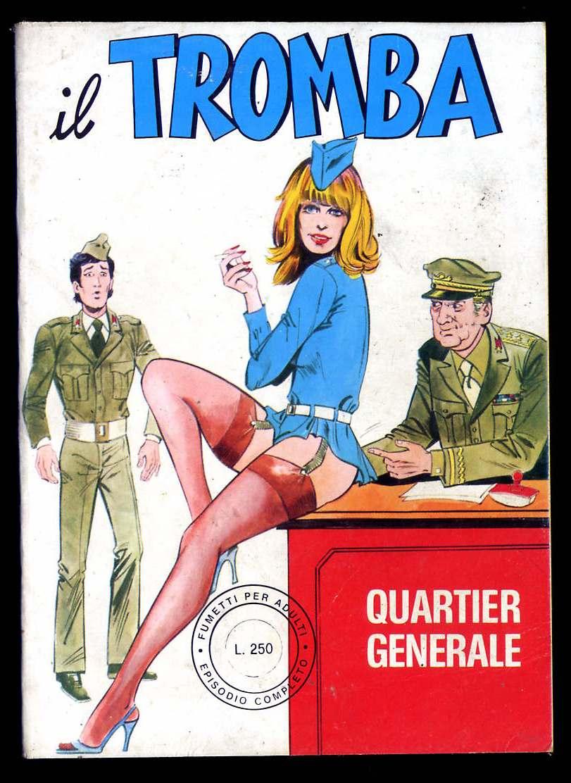 fumetto erotico il tromba
