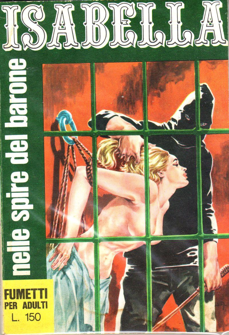 fumetto erotico isabella