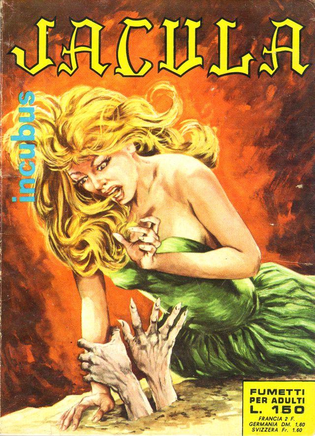 fumetto erotico jacula