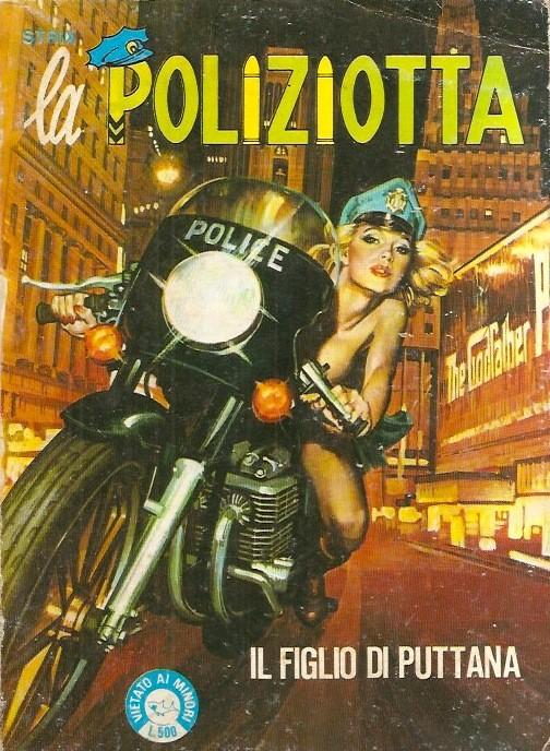 fumetto erotico la poliziotta